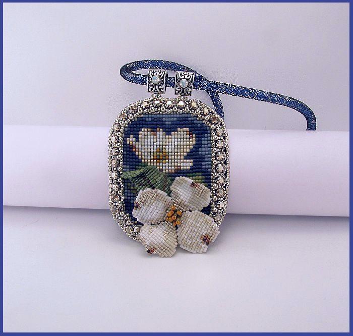 Class offered at West Palm Beach Bead Society Nov 2, 2015