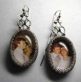 Photographic Earrings Front