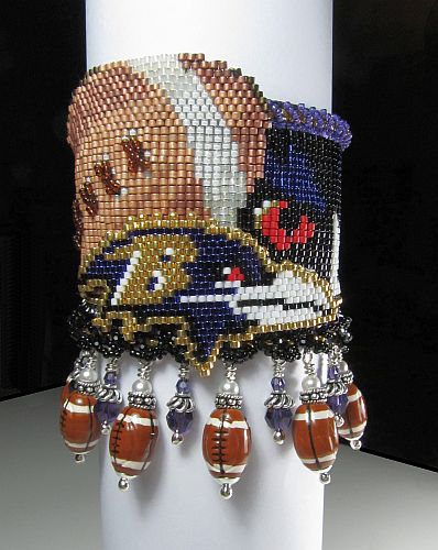 Baltimore Ravens Super Bowl Cufff