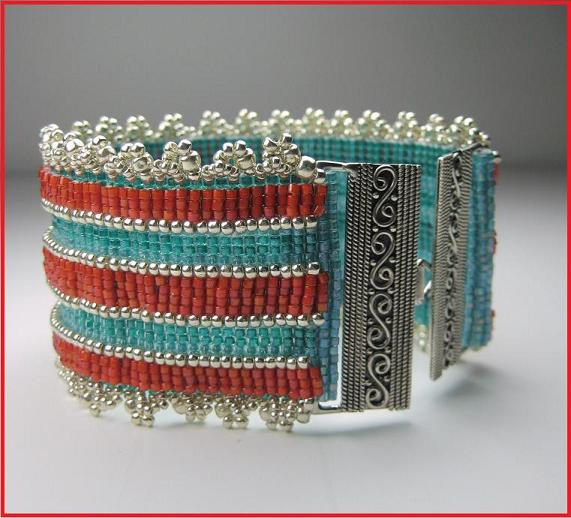 Layer Loomed Cuff